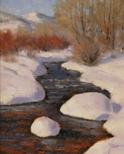 Dan Young - HEAVY SNOW ALONG THE FORK
