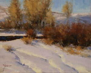 Dan Young - Heavy Snow Along the River