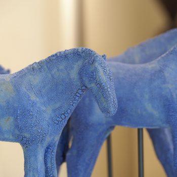 Amy Laugesen - Blue Mud Herd (set of 7)