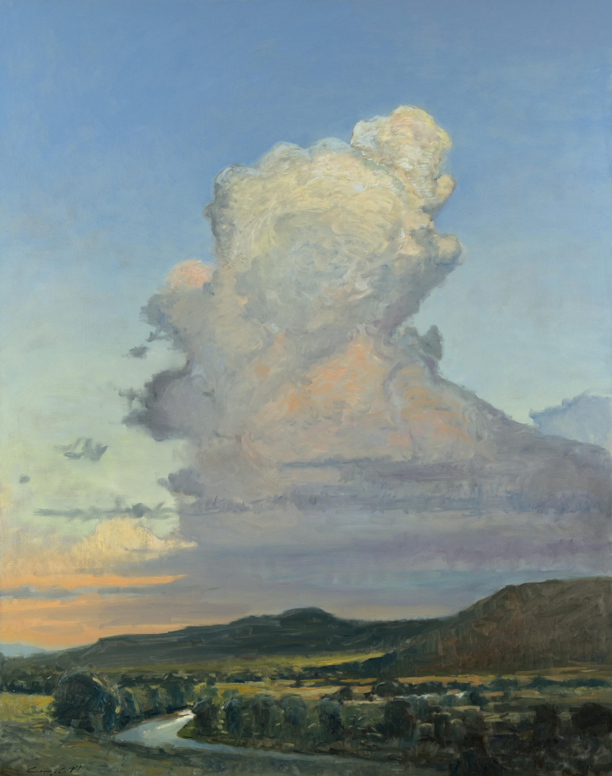 Peter Campbell - Clouds Over the Roaring Fork