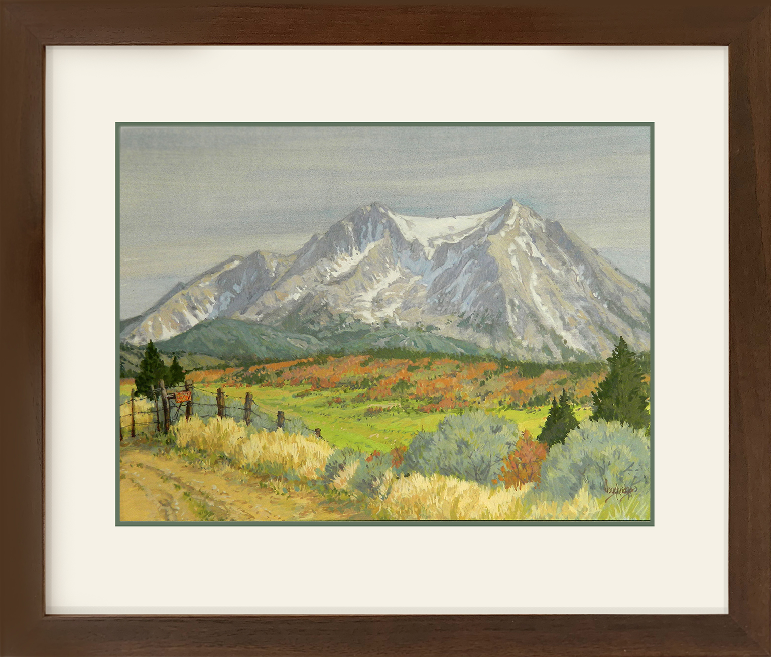 Leon Loughridge - Posted, Mt Sopris