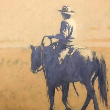 Terry  Gardner - The Roper in Orange