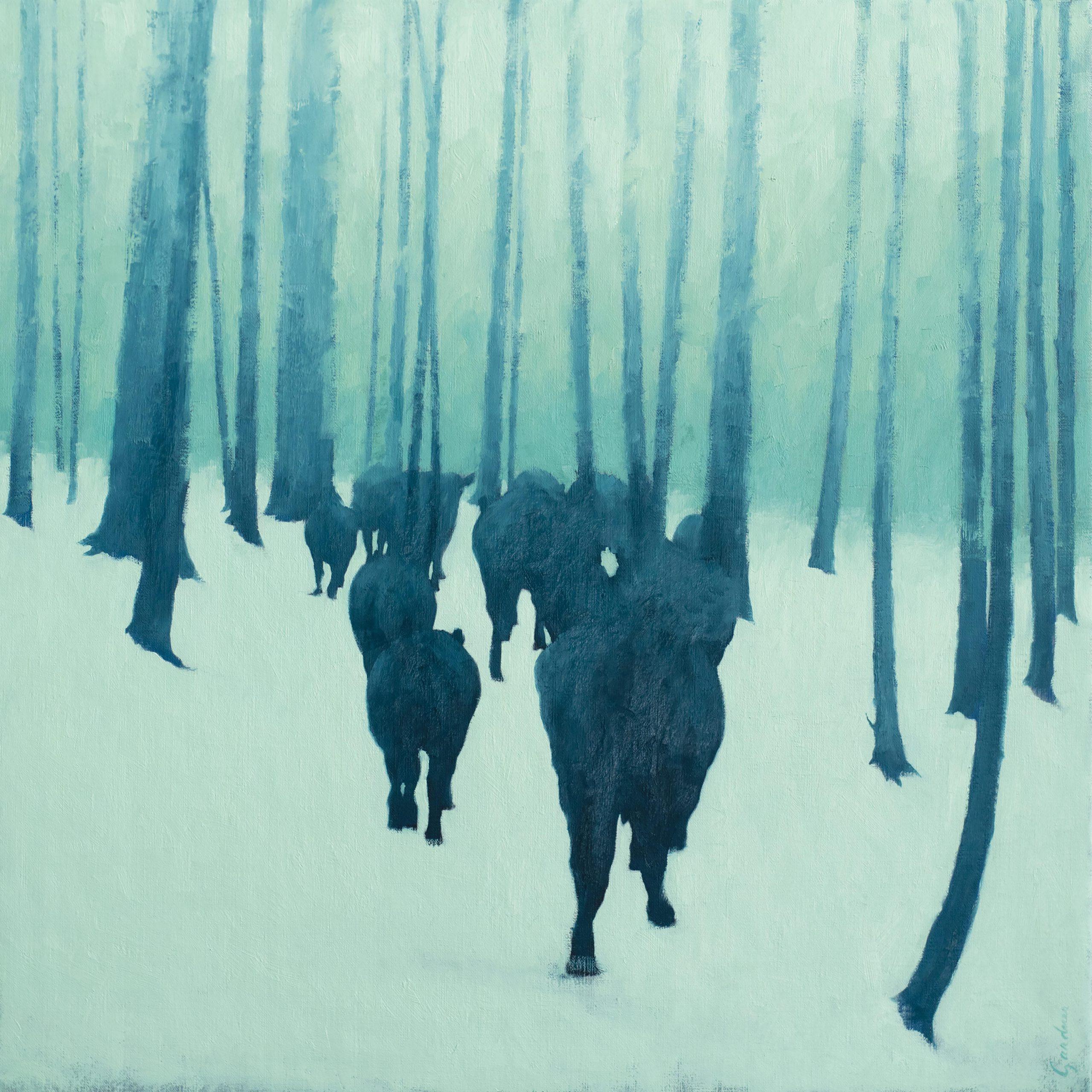 Terry  Gardner - A Rancher's Winter