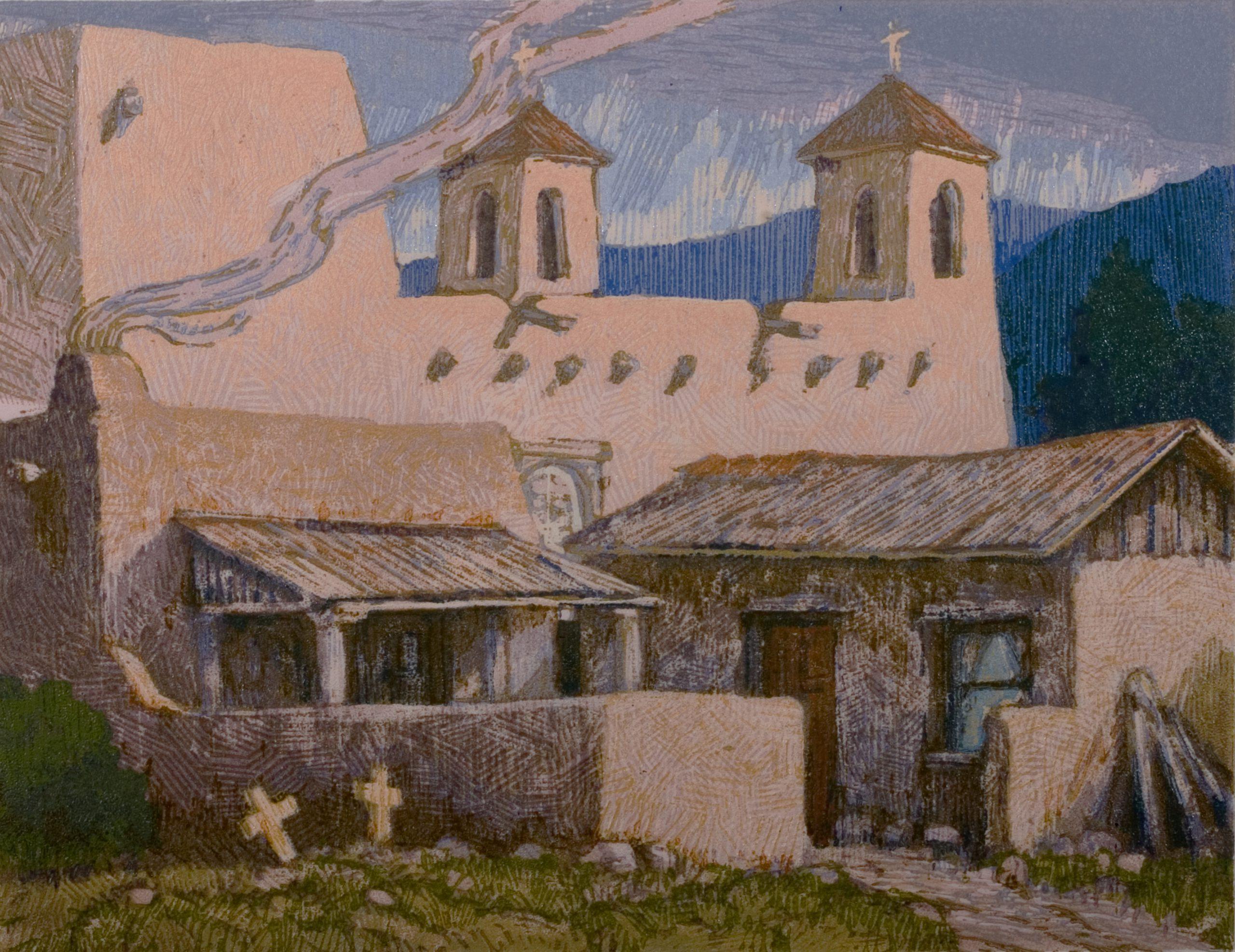 Leon Loughridge - April At Ranchos 1/12