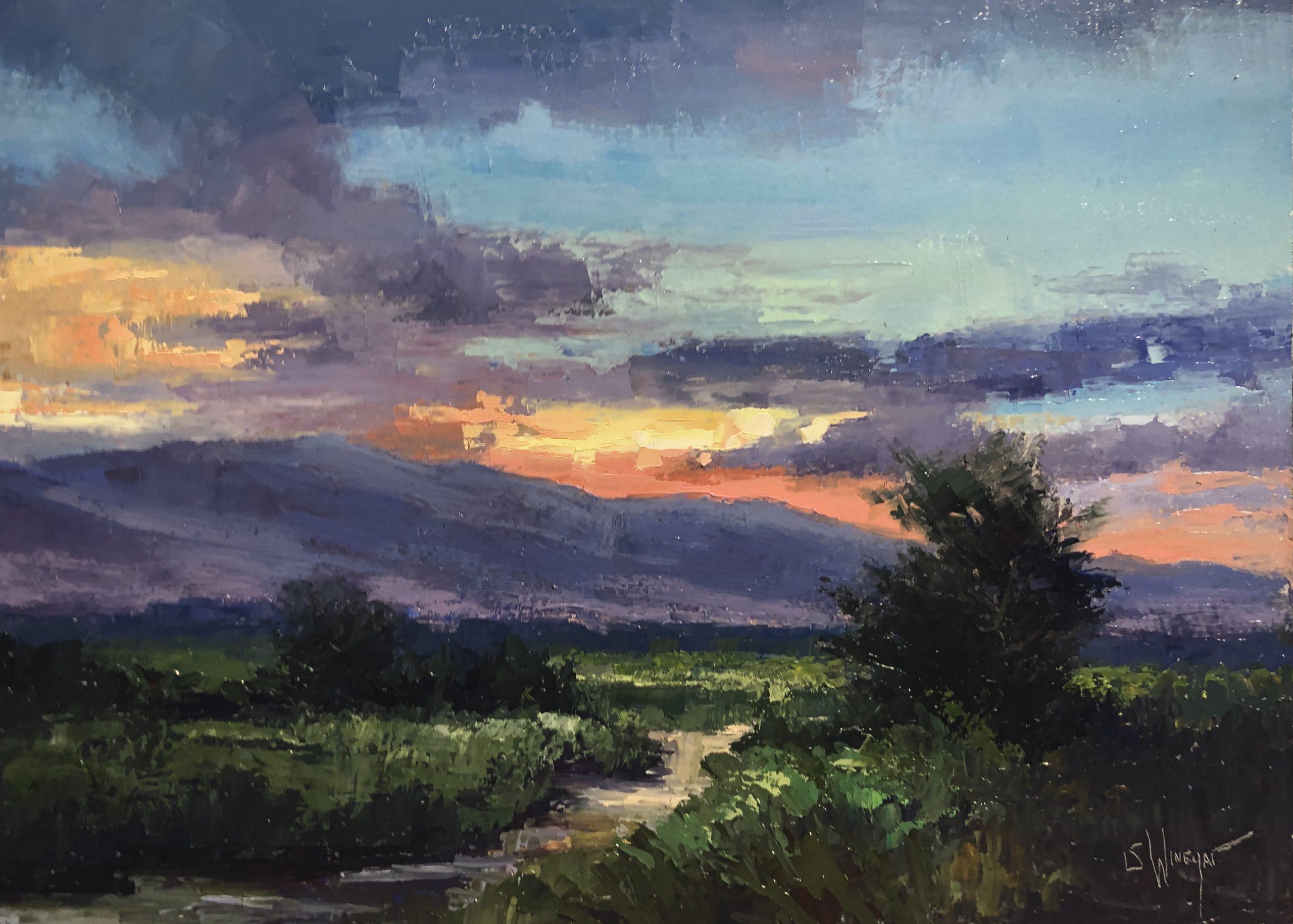 Simon Winegar - Wasatch Sunrise