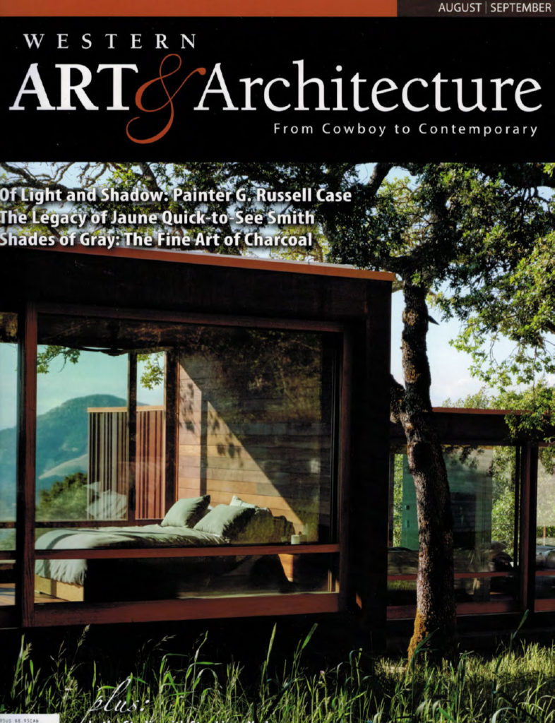 Sarah Lamb featured in Western Art & Architecture, Aug/Sept issue