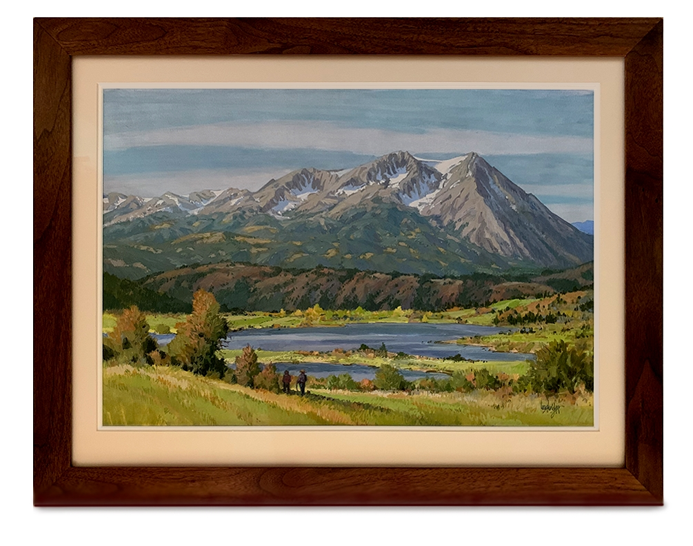 Leon Loughridge - Autumn Stroll, Mt Sopris