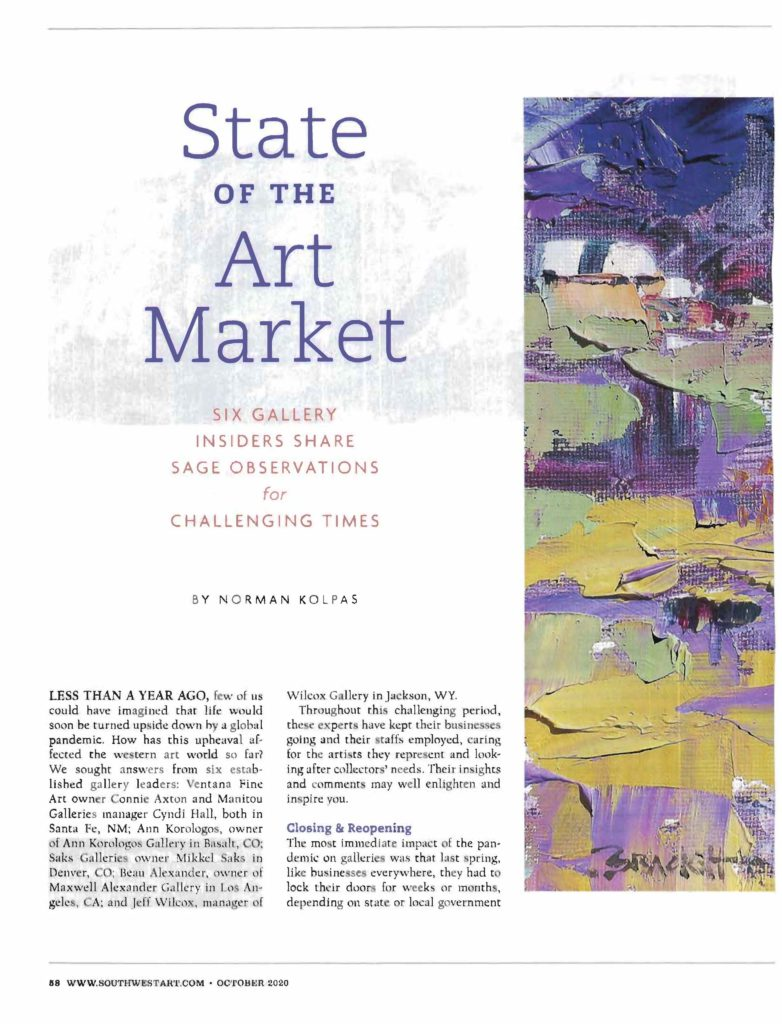 State of the Art Market in SW Art magazine _Page_1