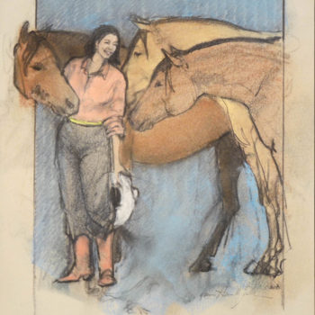 Donna Howell-Sickles - Buckskins Three
