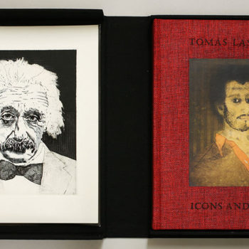 Tomas Lasansky - Einstein 156/300 Set of 4 in one Book