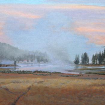 Linda Lillegraven - Morning Near Mud Volcano