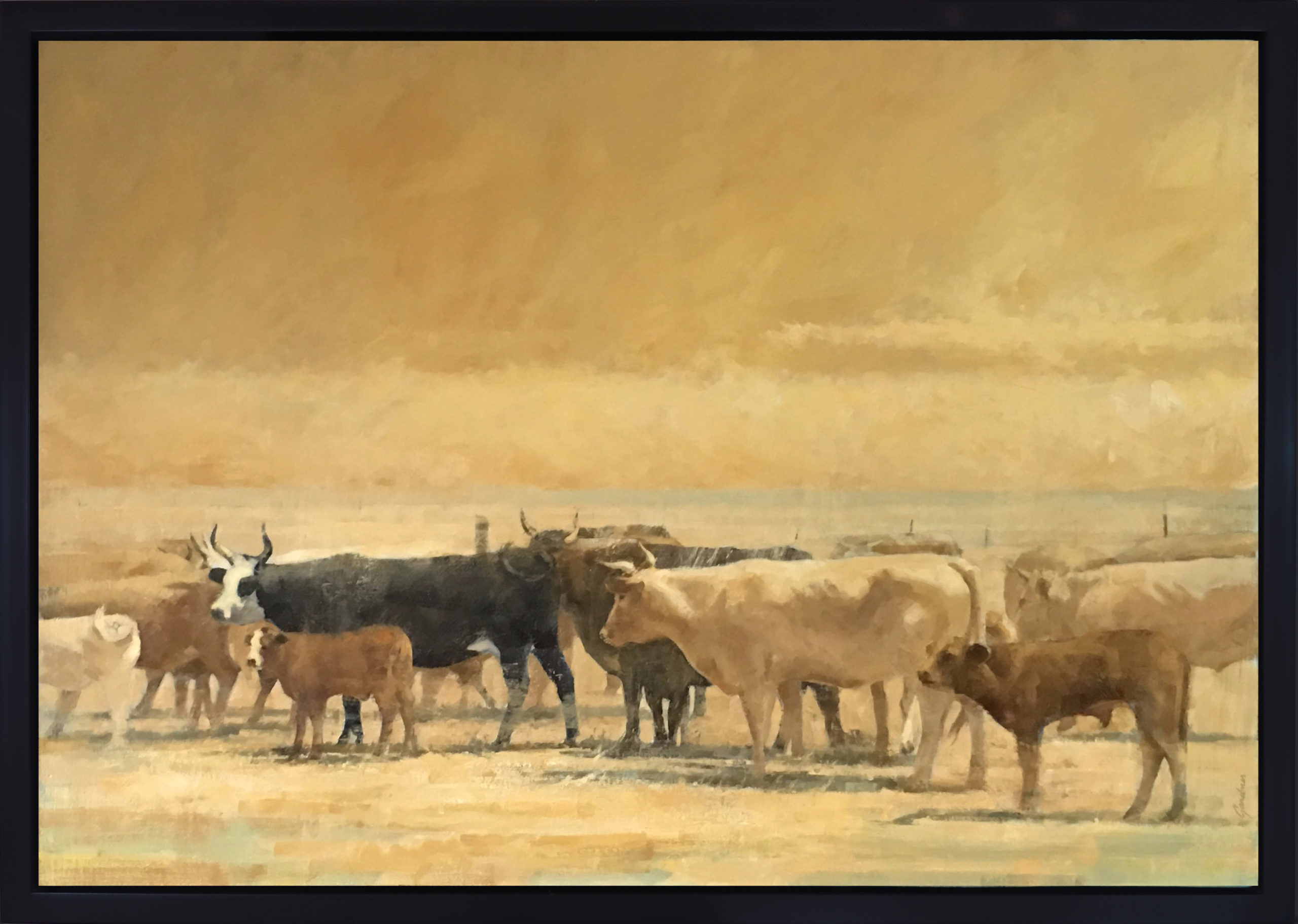 Terry  Gardner - The Dusty Herd