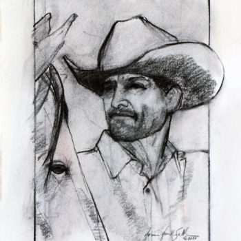 Donna Howell-Sickles - Cowboy Study